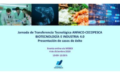 Jornada de transferencia tecnológica en Biotecnología e Industria 4.0