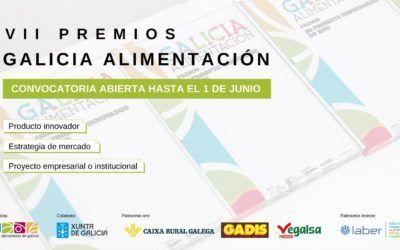 Abierta la convocatoria de los Premios Galicia Alimentación 2021