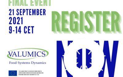 VALUMICS presenta los resultados del proyecto de investigación en un evento final el 21 de septiembre